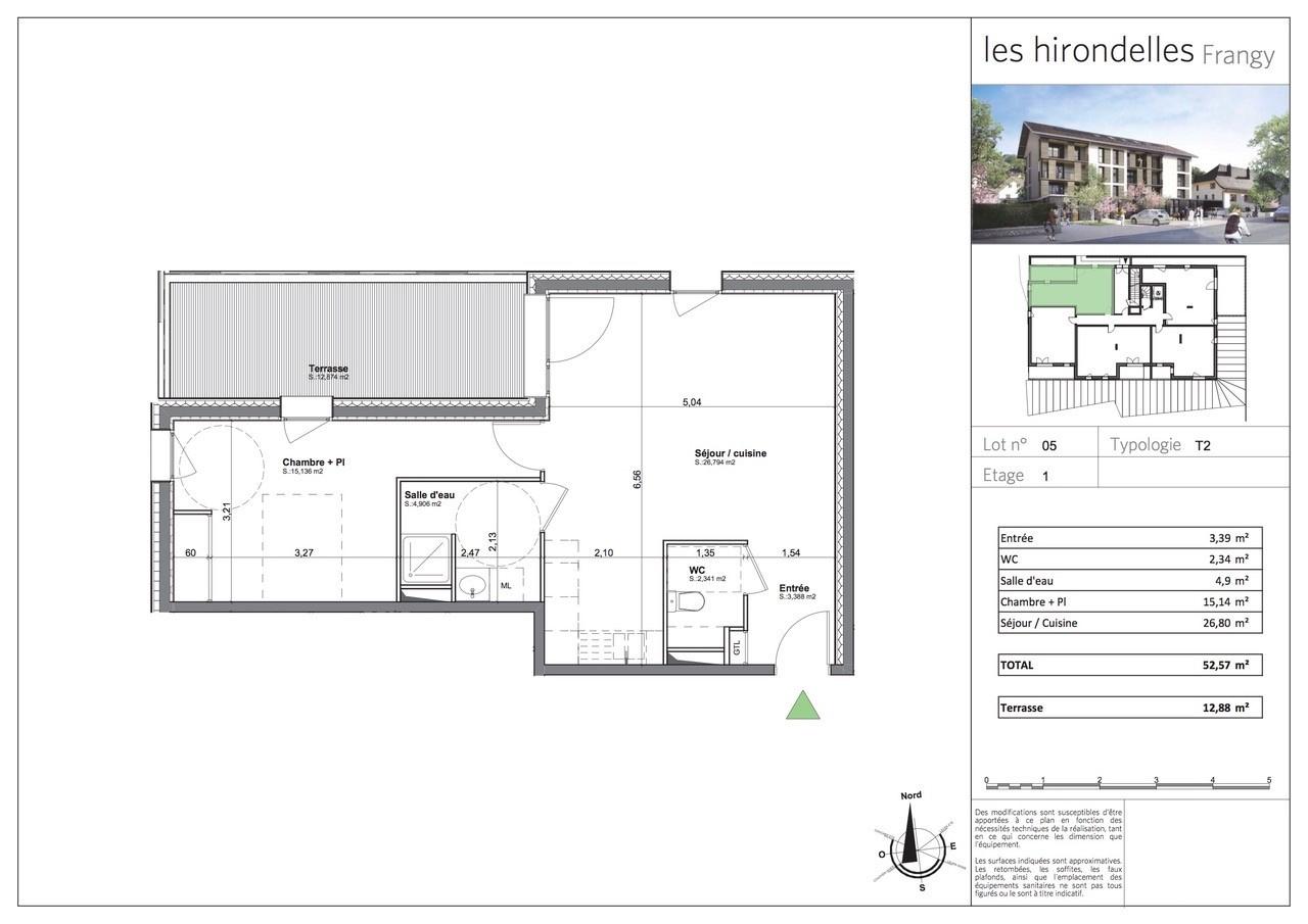 vente t2 neuf et sa terrasse parking frais de notaire r duits. Black Bedroom Furniture Sets. Home Design Ideas